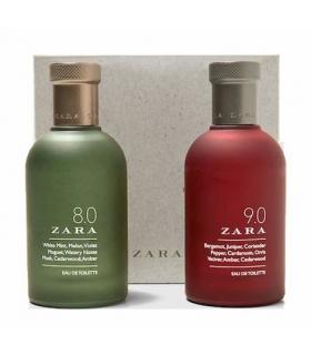 ست عطر و ادکلن مردانه زارا 8.0 و 9.0 Zara 8.0 & 9.0 For Men