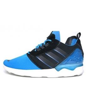 کفش پیاده روی مردانه آدیداس ZX 8000 Boost Mens in Solar Blue/Black by Adidas