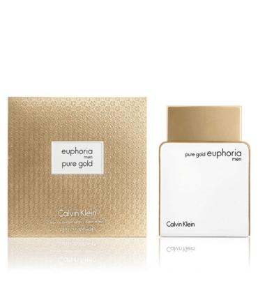 عطر و ادکلن مردانه کلوین کلاین پیور گلد ایفوریا Calvin Klein Pure Gold Euphoria EDP For Men
