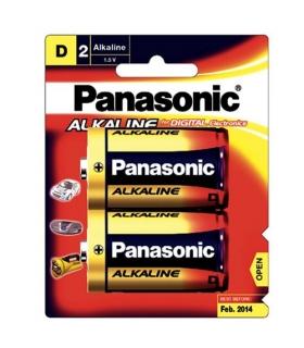 باتری آلکالاین بزرگ پاناسونیک Panasonic High-Tech Alkaline Evolta D 1.5V Battery