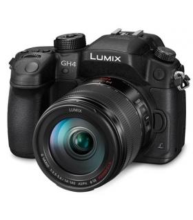 دوربین عکاسی دیجیتال پاناسونیک لومیکس Panasonic Lumix DMC-GH4 Camera With Lens 140-140