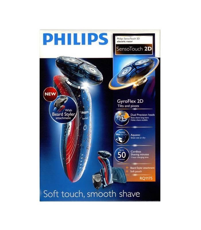ماشین ریش تراش فوق حساس دو بعدی فیلیپس RQ1280/17 Shaver Philips