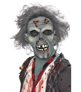 ماسک صورت اسمفیز زامبی در حال پوسیدگی همراه با مو Smiffys Decaying Zombie With Hair Mask