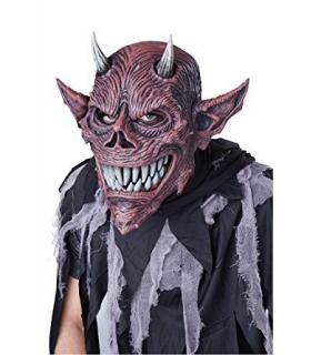 ماسک صورت کالیفورنیا کاستوم جشن شیطان California Costume Devil's Feast Mask