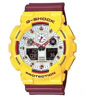 ساعت مچی عقربه ای زنانه و مردانه کاسیو جی شاک CASIO G-Shock GA-100CS-9ADR For Men and Women