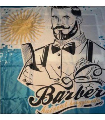 پیش بند آرایشگری طرح پرچم آرژانتین Hair Cutting Argentina