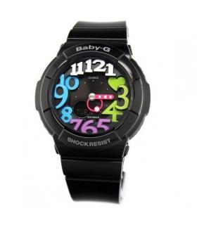 ساعت مچی عقربه ای پسرانه دخترانه کاسیو Casio BGA 131 1B2DR