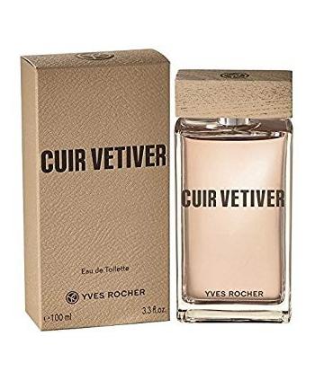 عطر و ادکلن مردانه کویر وتیور ایوروشه Yves Rocher Cuir Vetiver for Men