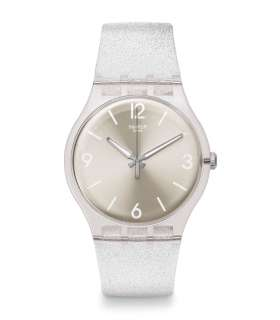 ساعت مچی عقربه ای زنانه و مردانه سواچ Swatch SUOK112