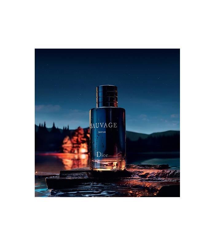 عطر و ادکلن مردانه کریستین دیور ساواج پرفیوم Christian Dior Sauvage Parfum for men