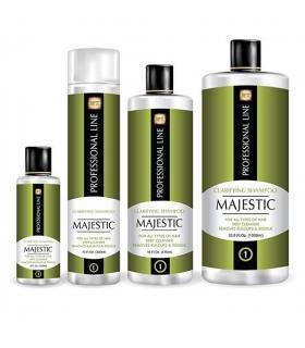 شامپو کراتین روشن کننده مو مجستیک Majestic Keratin Clarifying Shampoo