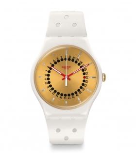 ساعت مچی عقربه ای زنانه و مردانه سواچ Swatch SUOW400