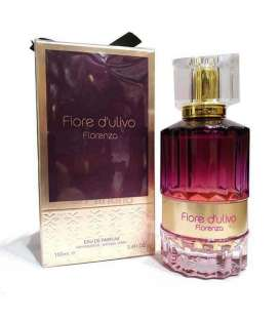 عطر و ادکلن زنانه فراگرنس ورد فیوره دولیوو فلورنزو ادوپرفیوم Fragrance World Fiore Dulivo FLorenzo EDP For Women