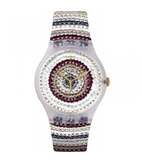 ساعت مچی عقربه ای زنانه و مردانه سواچ Swatch SUOK114