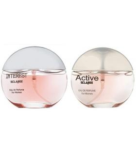 عطر و ادکلن زنانه اسکلاره پرفیوم اینترست و اکتیو Sclaree Active & Perfume Interest For Women