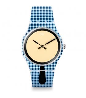 ساعت مچی عقربه ای زنانه و مردانه سواچ Swatch SUOW118