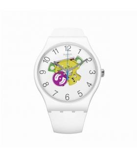 ساعت مچی عقربه ای زنانه و مردانه سواچ Swatch SUOW148