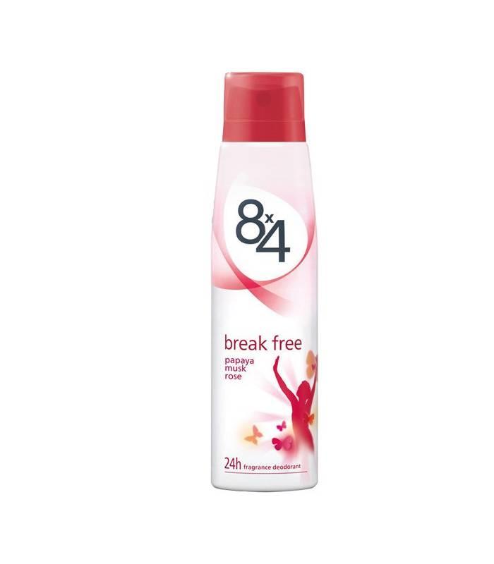 اسپری زنانه هشت در چهار بریک فری 8x4 Break Free For Women