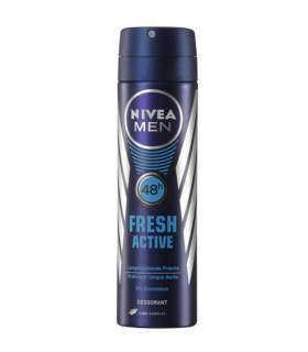 اسپری مردانه نیوآ فرش اکتیو Nivea Fresh Active Spray For Men