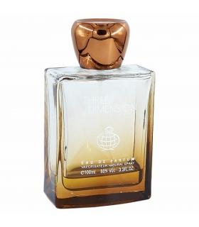 عطر و ادکلن مردانه فراگرنس ورد تری دایمنشن ادوپرفیوم Fragrance World THREE DIMENSION EDP For Men