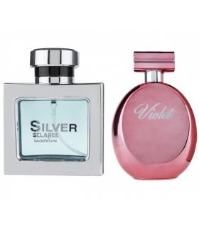 ست عطر و ادکلن زنانه و مردانه اسکلاره ویولت و سیلور ادوپرفیوم Sclaree Violet & Silver EDP For Men & Women