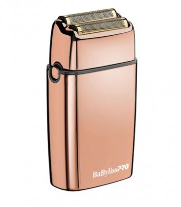 شیور بابیلیس پرو دو فویلی رزگلد فویل اف ایکس 02 BaBylissPro FX02 Rose Gold Double Foil Shaver