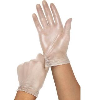دستکش وینیل آوا بدون پودر AVA Vinyl Exam Glove