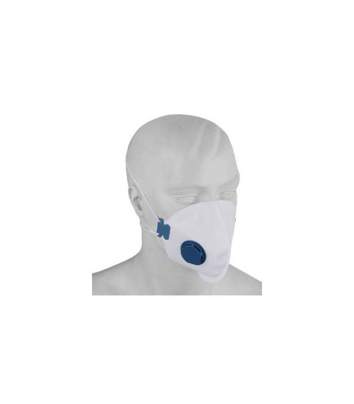 ماسک تنفسی فیلتردار (سوپاپ دار) particulate respirator dust mask FFP2 HY-8226