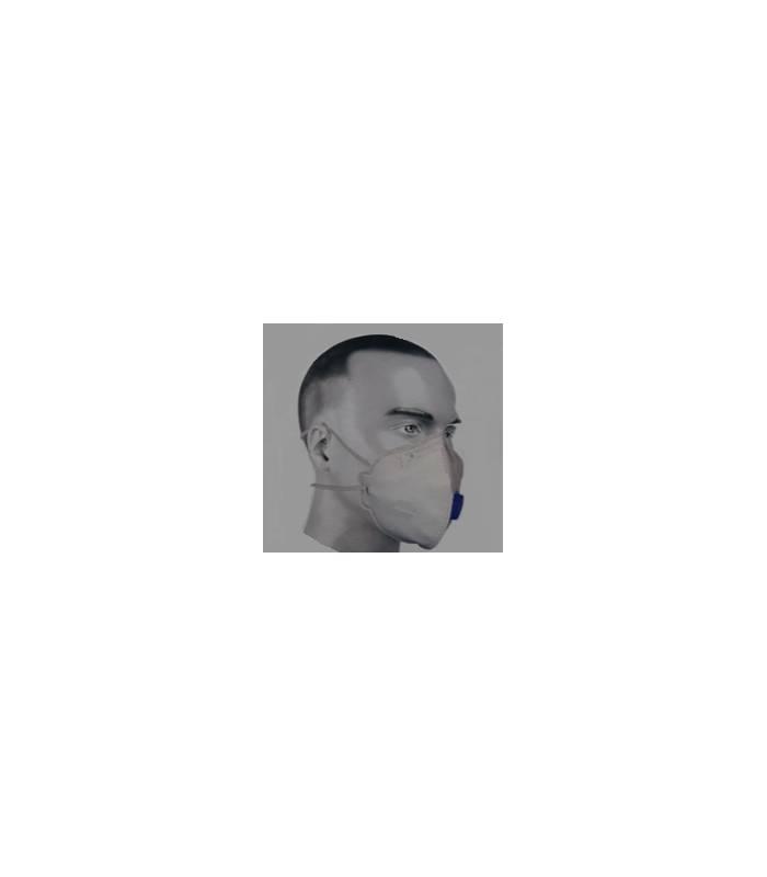 ماسک تنفسی فیلتردار (سوپاپ دار) particulate respirator dust mask FFP2 HY-8222