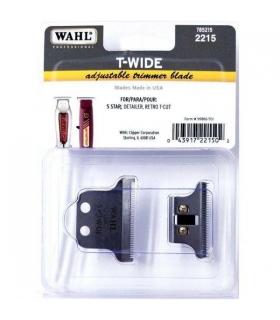 تیغه ماشین اصلاح وال تی شکل دیتایلر و رترو تی کات Wahl Professional T-Wide 5 Star Series Detailer