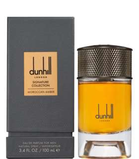 عطر و ادکلن مردانه آلفرد دانهیل سیگنچر کالکشن موراکن آمبر ادوپرفیوم Alfred dunhill Signature Collection Moroccan Amber EDP Men