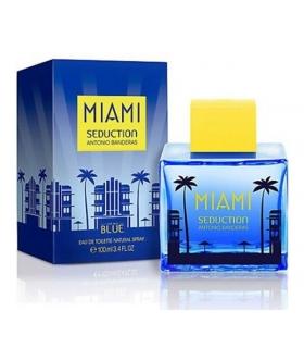 عطر و ادکلن مردانه آنتونیو باندراس میامی سداکشن بلو ادوتویلت Antonio Banderas Miami Seduction Blue EDT for Men