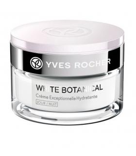 کرم جوان کننده شب ایو روشه مدل وایت بوتانیکال Yves Rocher White Botanical Exceptional Youth Night Cream