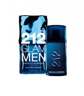 عطر و ادکلن مردانه کارولینا هررا 212 گلام من ادو تویلت Carolina Herrera 212 Glam men EDP for men