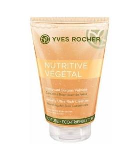 ژل پاک کننده فوق غنی نوتریتیو وژتال ایوروشه Yves Rocher Nutritive Vegetal Ultra Rich Cleanser