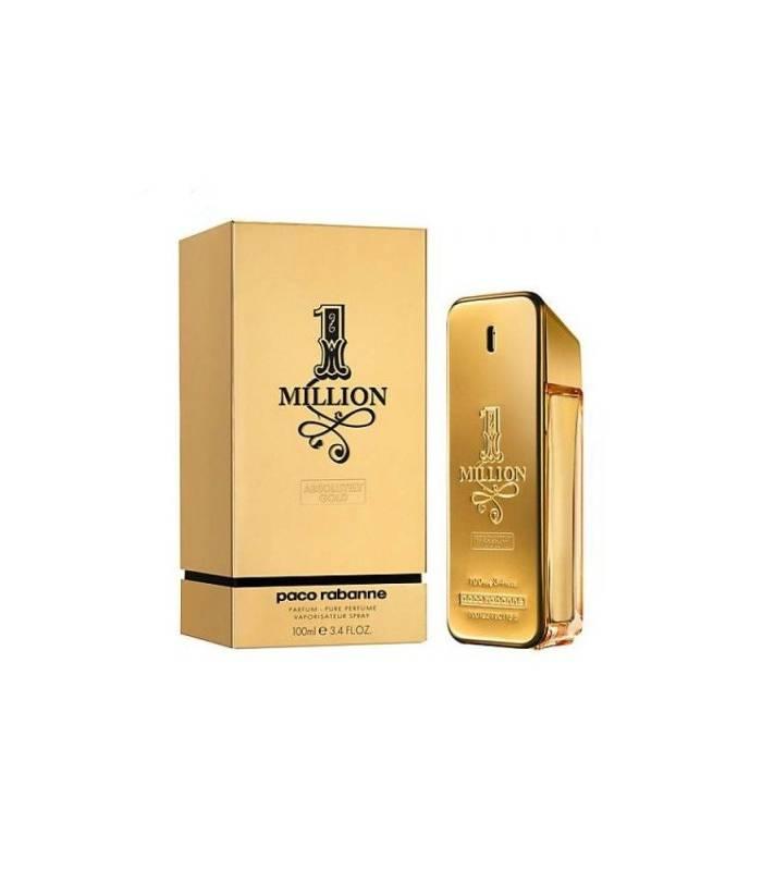 عطر مردانه پاکو رابان وان میلیون آبسلوتلی گلد 1Million Absolutely Gold Paco Rabanne for me