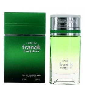 عطر و ادکلن مردانه فرانک الیور فرانک گرین (سبز) ادو تویلت Franck Franck Green EDT for Man