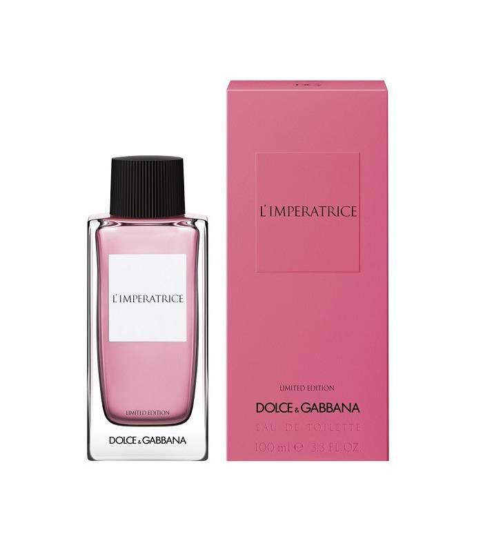 عطر و ادکلن زنانه دلچی گابانا لیمپرتریچه لیمتید ادیشن ادوتویلت Dolce&Gabbana(D&G) L'Imperatrice Limited Edition EDT for women