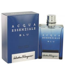 عطر مردانه سالواتور فراگامو آکوآ اسنزیال بلو Salvatore Ferragamo Essenziale Acqua Blu Eau De Parfum For Men