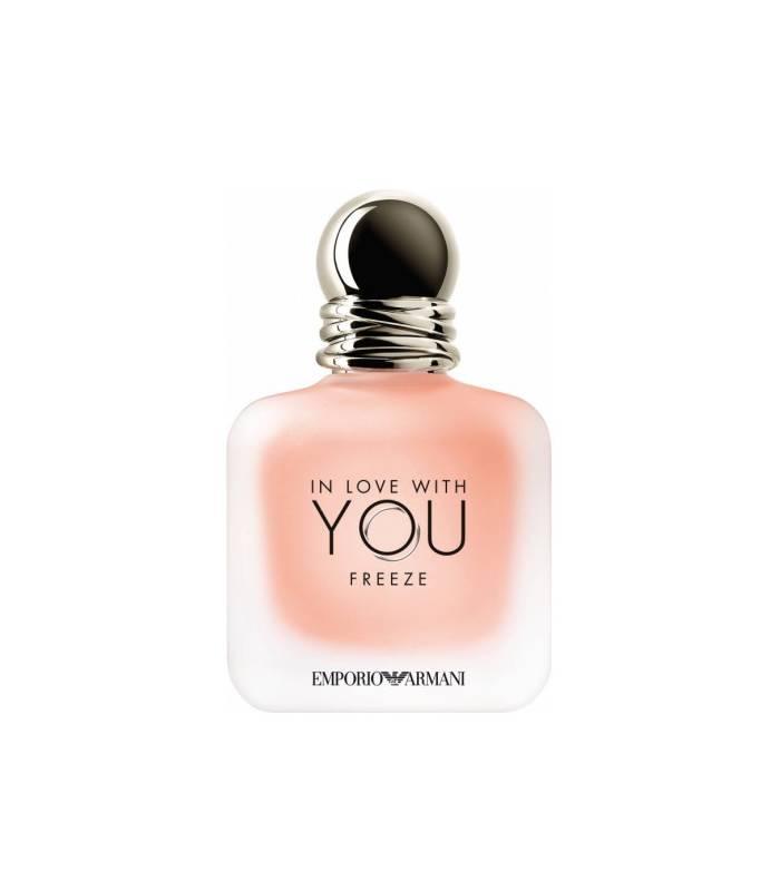 عطر و ادکلن زنانه جورجیو آرمانی این لاو ویت یو فریز ادوپرفیوم Giorgio Armani In Love With You Freeze EDP For Women