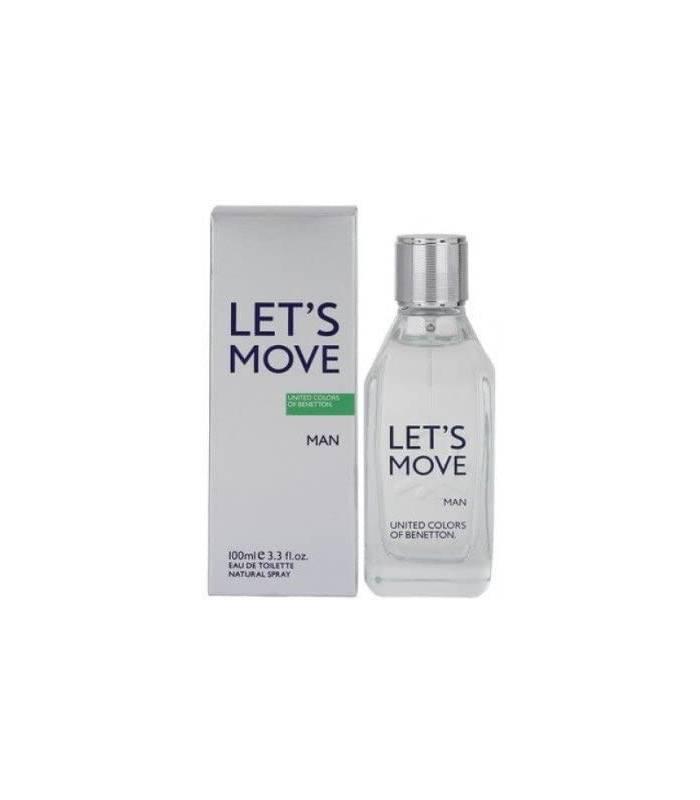 عطر مردانه بنتون لتس موو Benetton Let`s Move for men