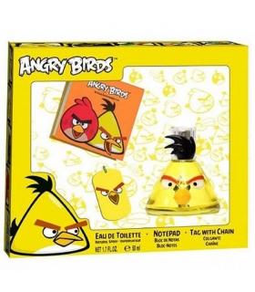 ست ادو تویلت کودک ایروال انگری بردززرد Air-Val Angry Birds Yellow Eau De Toilette Gift Set For Children