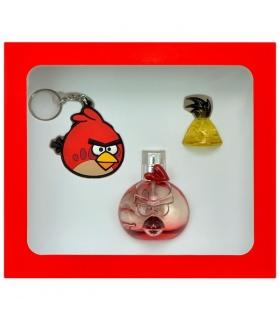 ست ادو تویلت کودک ایروال انگری بردز قرمزپرستیژ Air-Val Angry Birds Red Prestige Eau De Parfum Gift Set For Children
