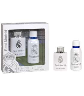 ست ادوتویلت کودک ای پی لاین رئال مادرید IP Line Real Madrid Eau De Toilette Gift Set For Children