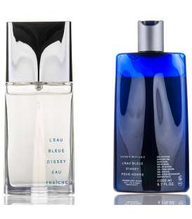 ست ادکلن مردانه ایسی میاکی لئو بلو دی ایسی Issey Miyake L Eau Bleue Dissey Eau Fraiche Eau De Toilette Gift Set For Men