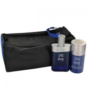 ست ادکلن مردانه دیویدف کول واتر دیپ Davidoff Cool Water Deep Eau De Toilette Gift Set For Men
