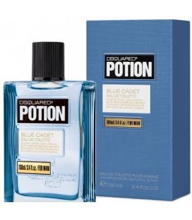 عطر مردانه دسکوارد پوشن بلو کادت Dsquared2 Potion Blue Cadet for Men
