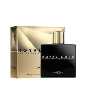 عطر مردانه آرنو سورل کافرت رویال گلد پورهوم Arno Sorel Coffret Royal Gold Pour Homme Eau De Toilette For Men