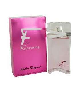 عطرزنانه سالواتور فراگامو اف فور فسینیتینگ Salvatore Ferragamo F For Fascinating Eau De Toilette For Women