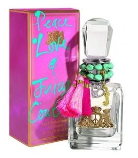 عطر زنانه جویسی کوتور پیس لاو Juicy Couture Peace Love for women